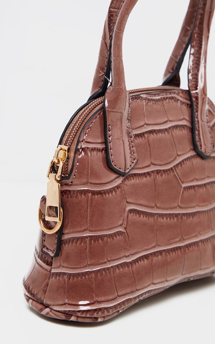 Rose Croc Mini Grab Bag 3