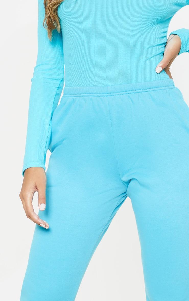 Bright Blue Casual Jogger 5