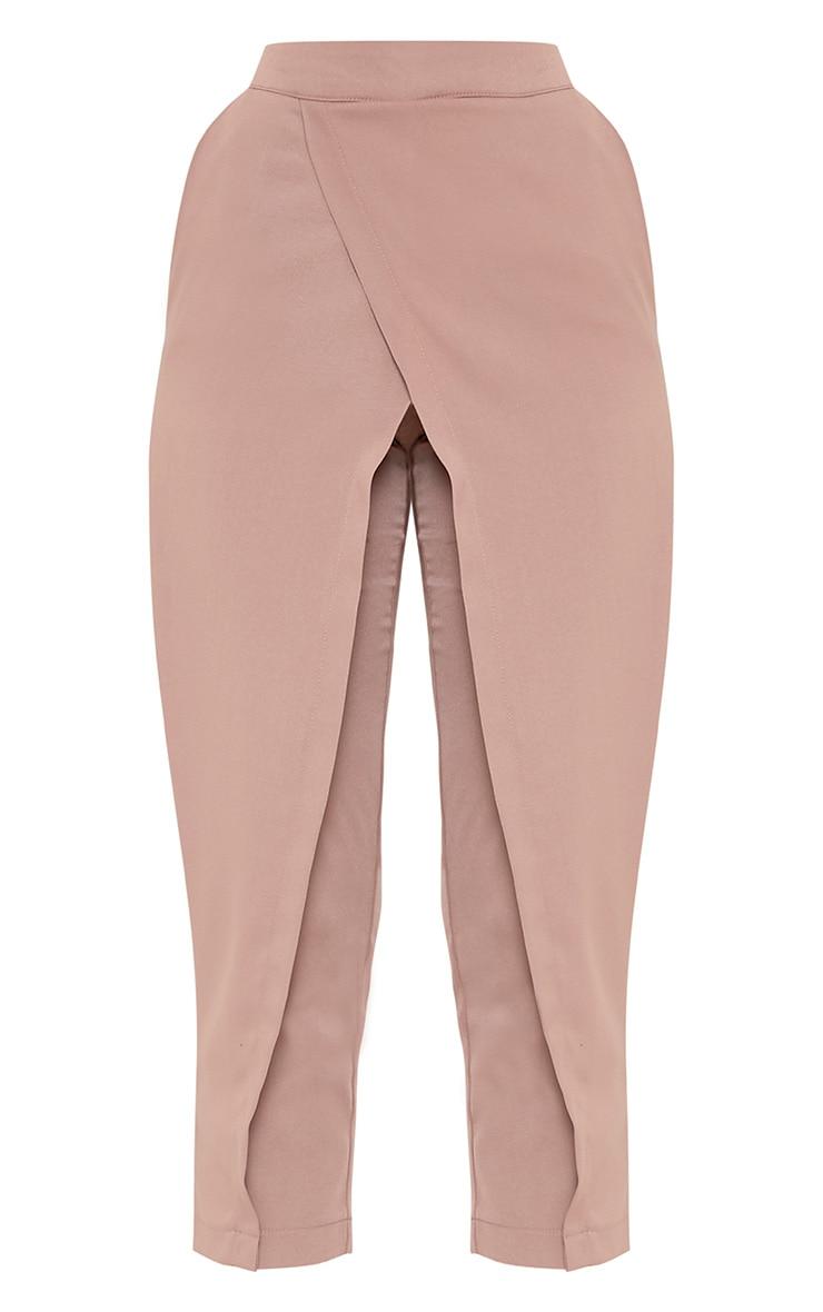 Rachel pantalon à devant croisé blush 2