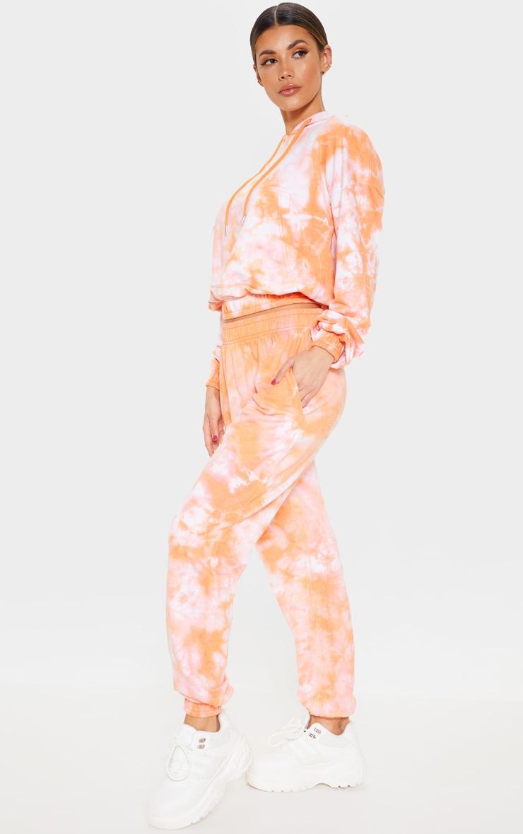 Orange Tie Dye Jogger 1