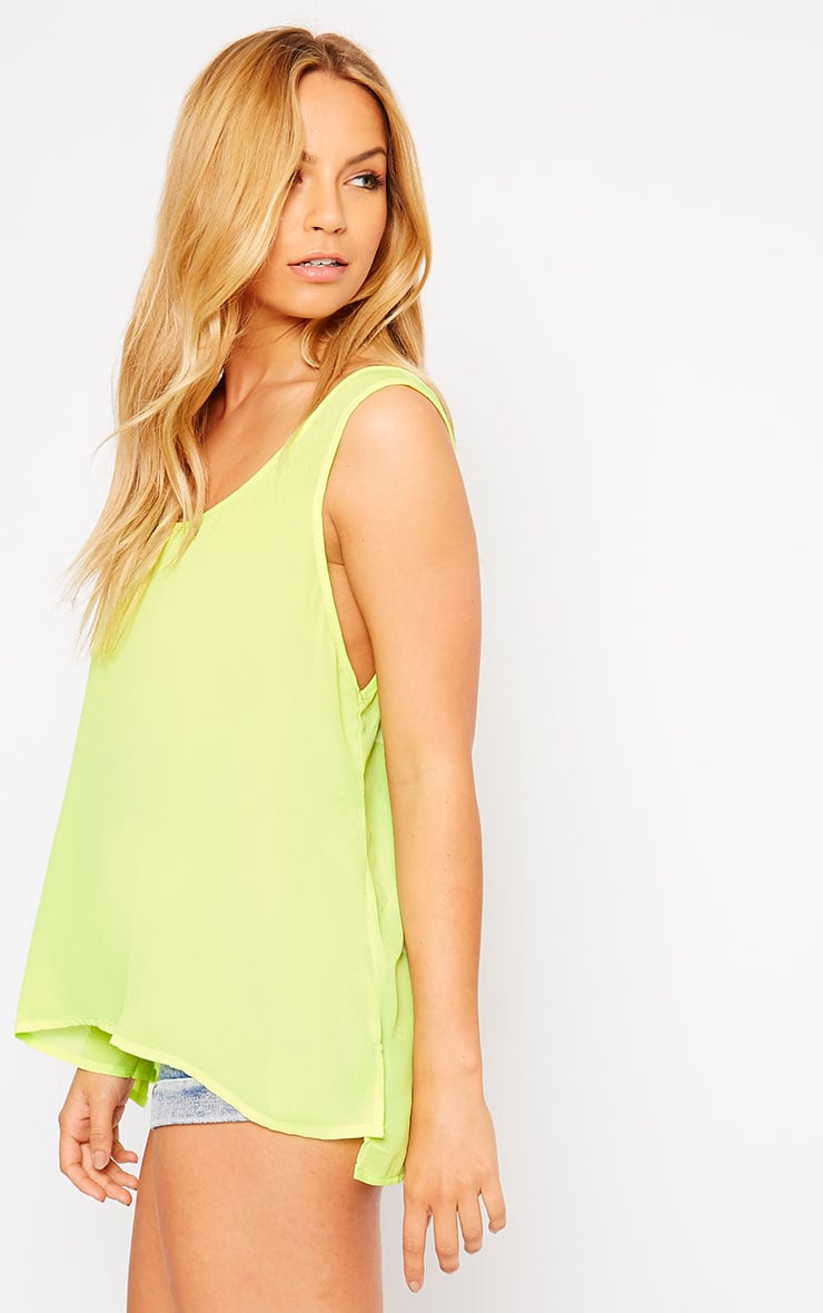 Lenny Lime Sheer Vest 4