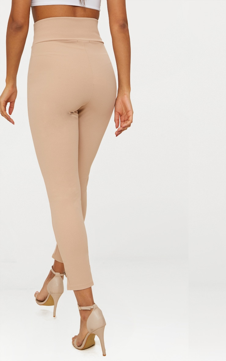 Stone Cut Out Waist Skinny Trouser  3