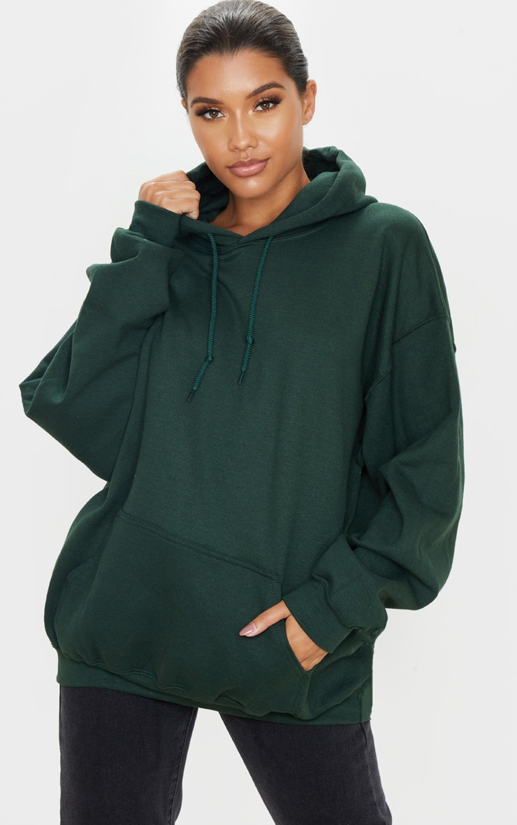 Forest Green Ultimate Oversized Hoodie 1