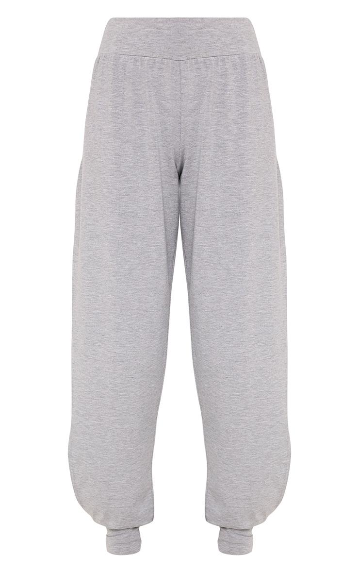 Chasity Grey Split Side Jersey Trousers 3