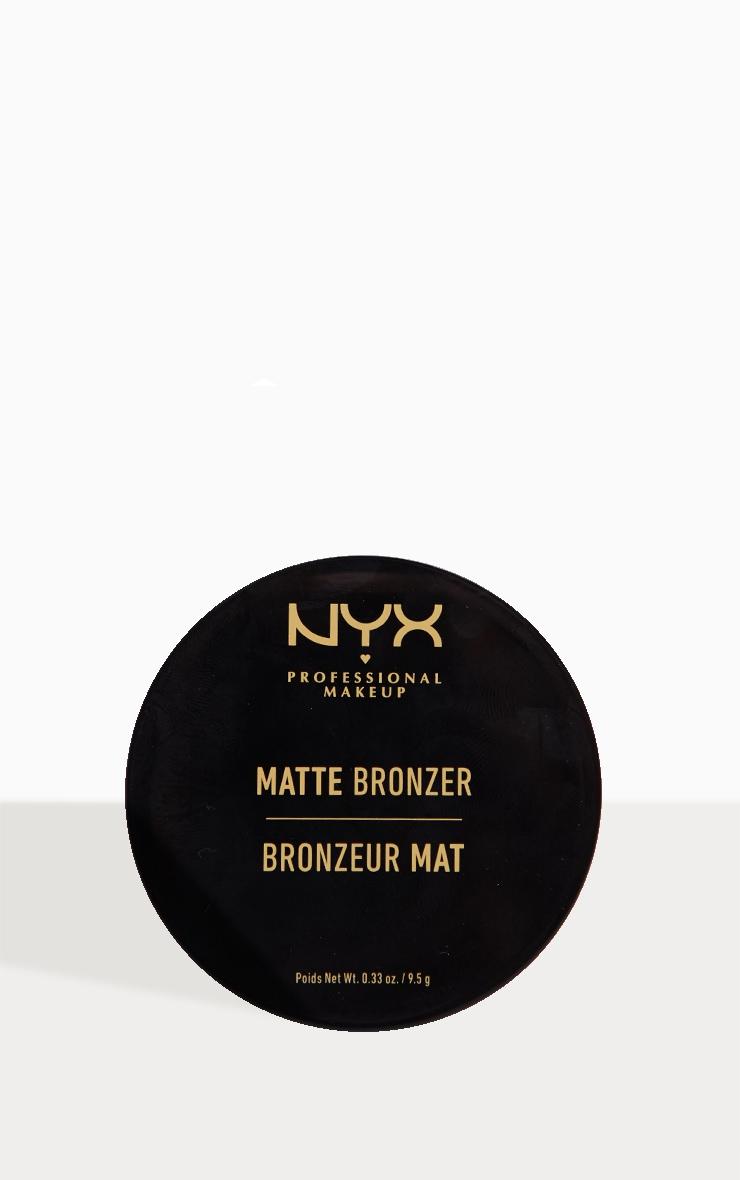 NYX PMU Matte Bronzer Deep Tan 3