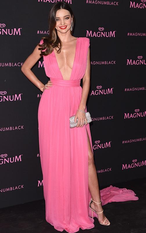 Marlisa Khaki Slinky Plunge Maxi Dress 2
