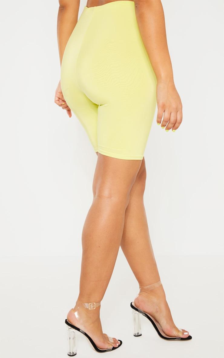 Short-legging long vert citron clair Mix & Match  4