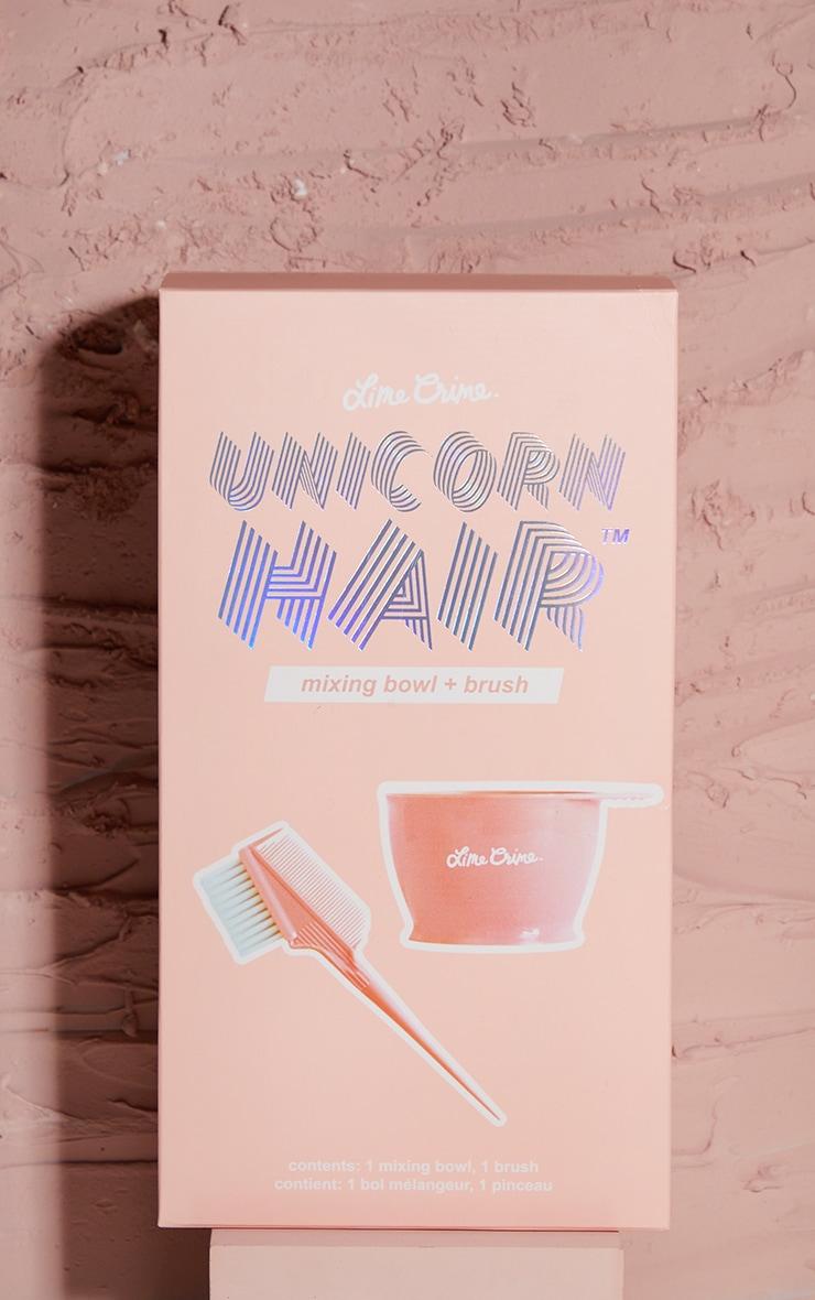 Lime Crime Unicorn Hair Mixing Bowl + Brush 2
