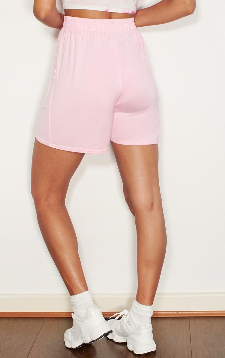 Pink Oversized Floaty Shorts 3