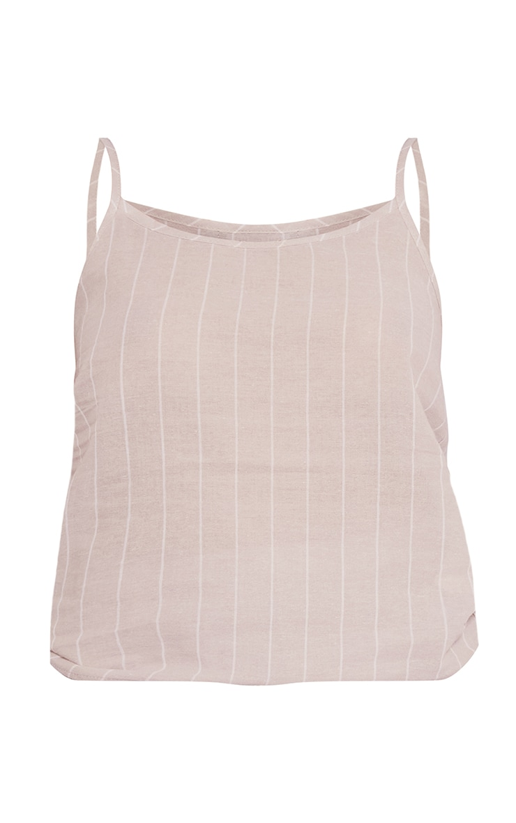 Stone Mix And Match Wide Stripe Cotton Cami Pj Top 5