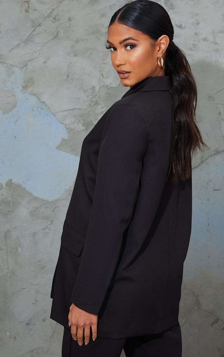 Maternity Black Oversized Blazer 2