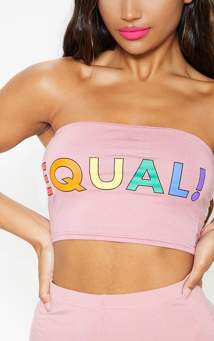 Pink Equal Bandeau 6