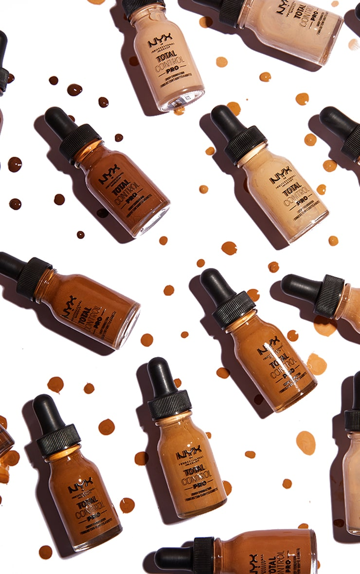 NYX PMU Total Control Pro Drop Controllable Coverage Foundation Sienna 3