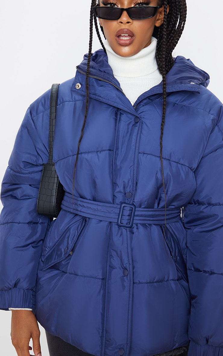 Navy Belted Puffer  5