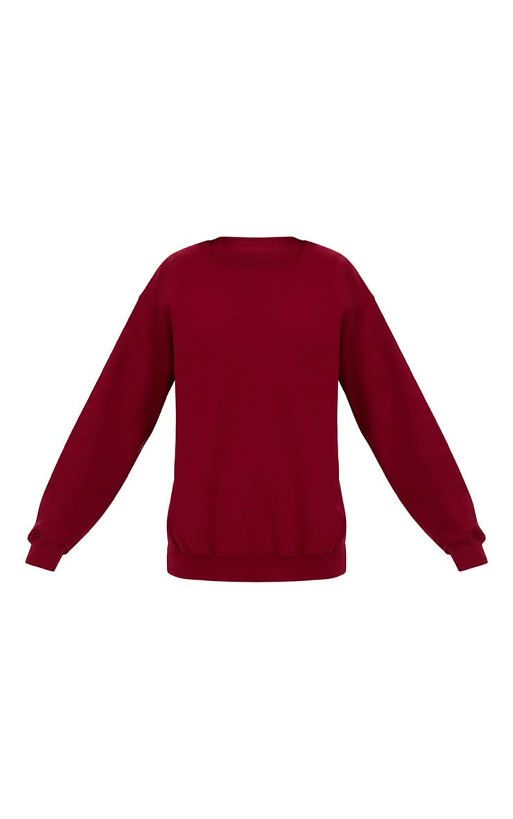 Burgundy Ultimate Oversized Sweater 3
