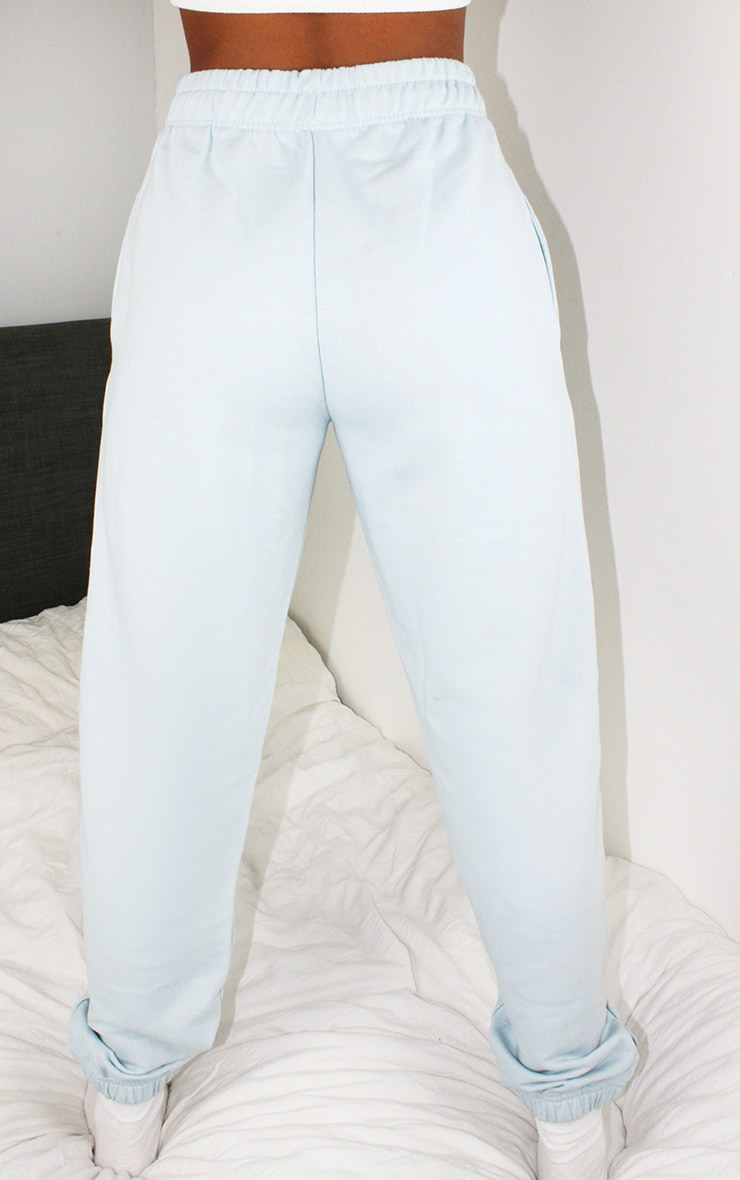 Petite Baby Blue Casual Joggers 3