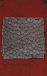 Grey Unisex Croc Mesh Bandana 4