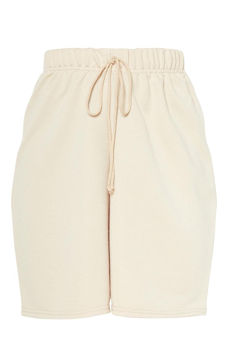Stone Longline Sweat Shorts 3