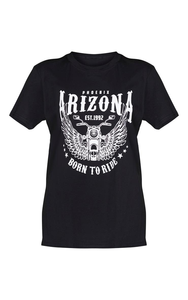 Charcoal Arizona Washed T Shirt 5