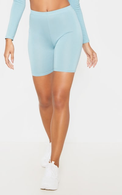 Dusty Turquoise & Midnight Blue Basic Cycle Short 2 Pack