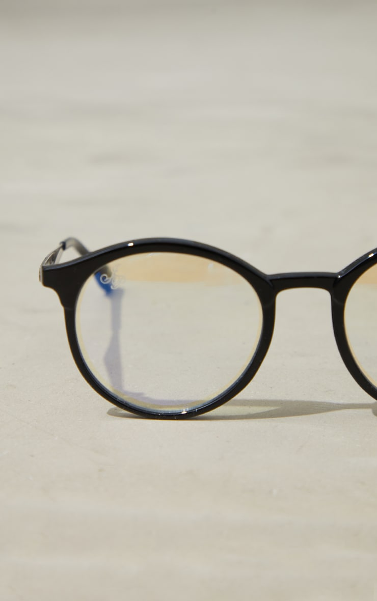 Jeepers Peepers Black Roundframe Readers 3