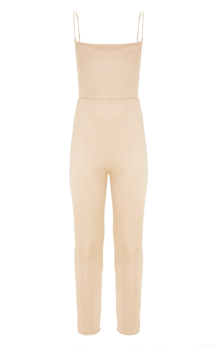Nude Second Skin Cut Out Side Jumpsuit 3