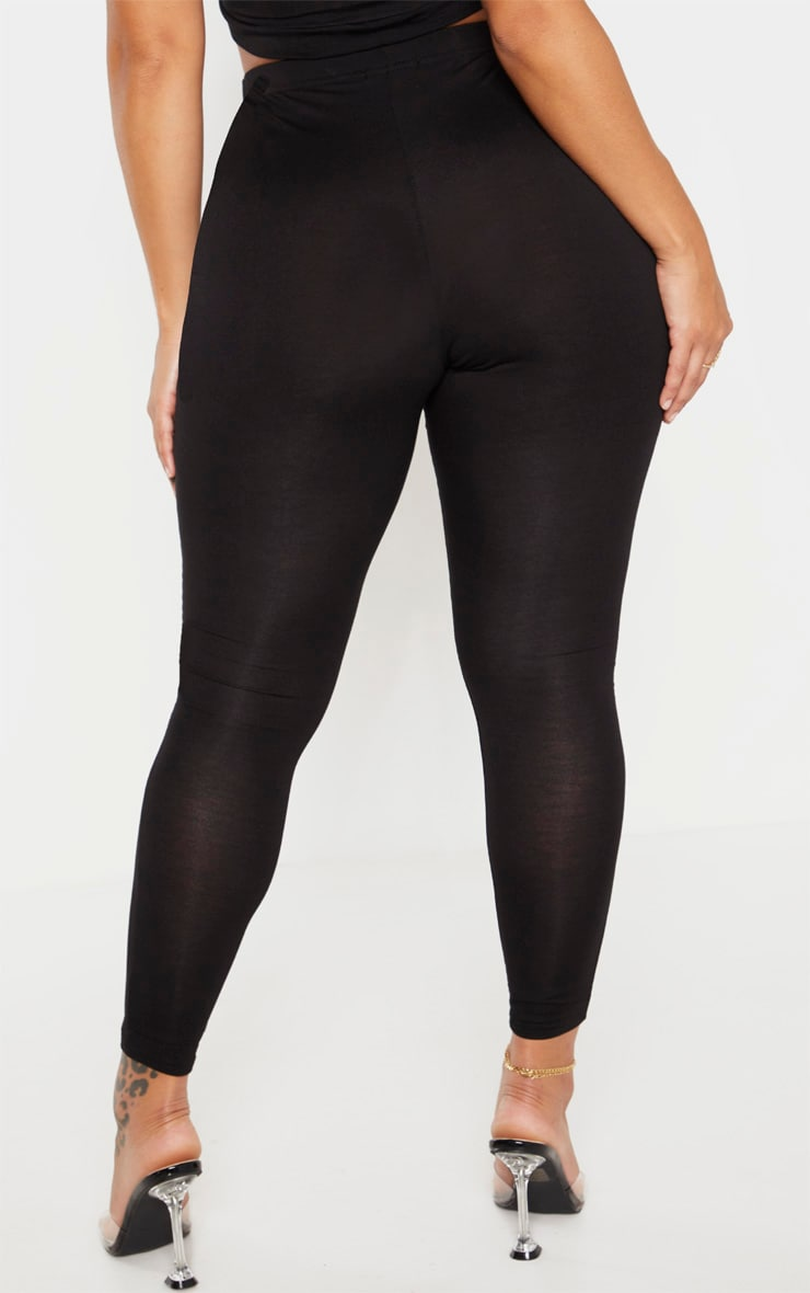 Shape - Legging stretch en jersey noir 4