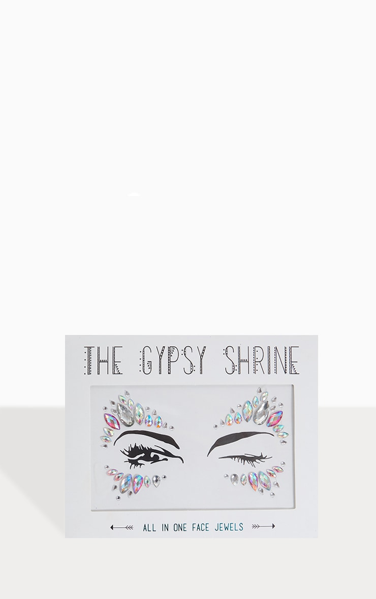 The Gypsy Shrine - Bijoux de visage irisés Candy Kiss Face
