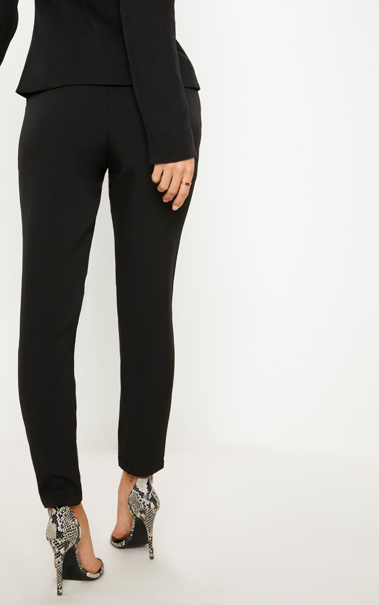 Avani Black Suit Pants 4