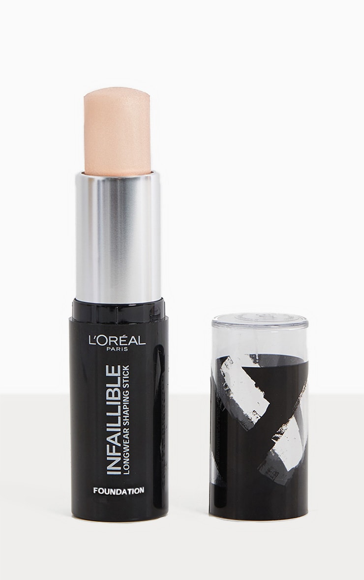 L Oreal Paris Infallible Shaping Stick Foundation 100 Ivory