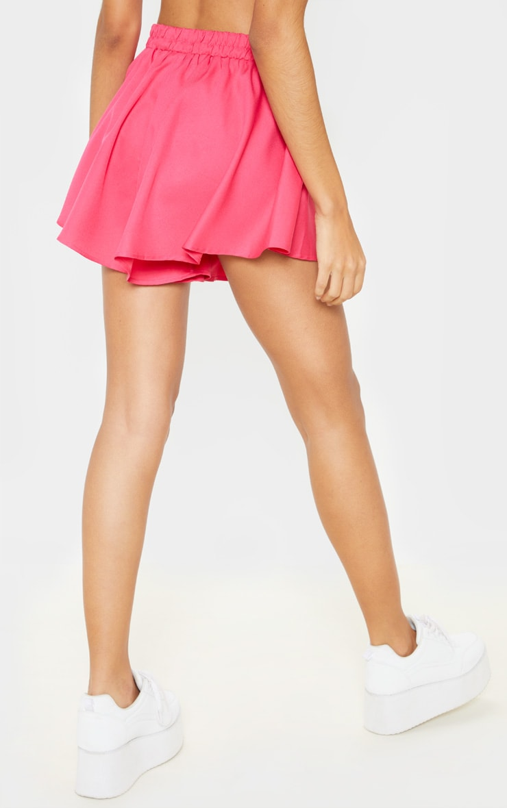 Hot Pink Floaty Shorts 3