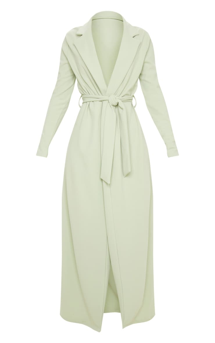 Sage Green Maxi Duster 3