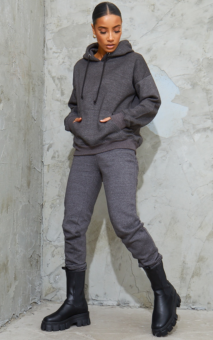 Jogging simple gris anthracite  1