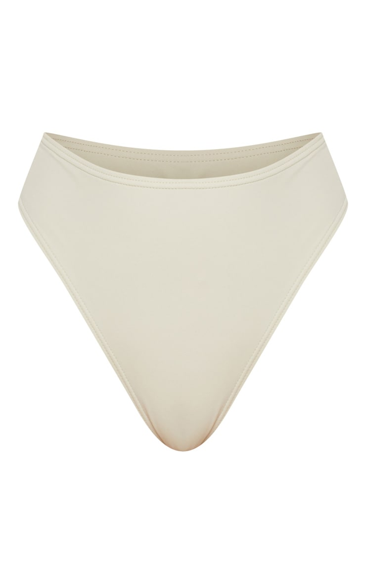 Sage Green High Waisted Cheeky Bum Bikini Bottom 3