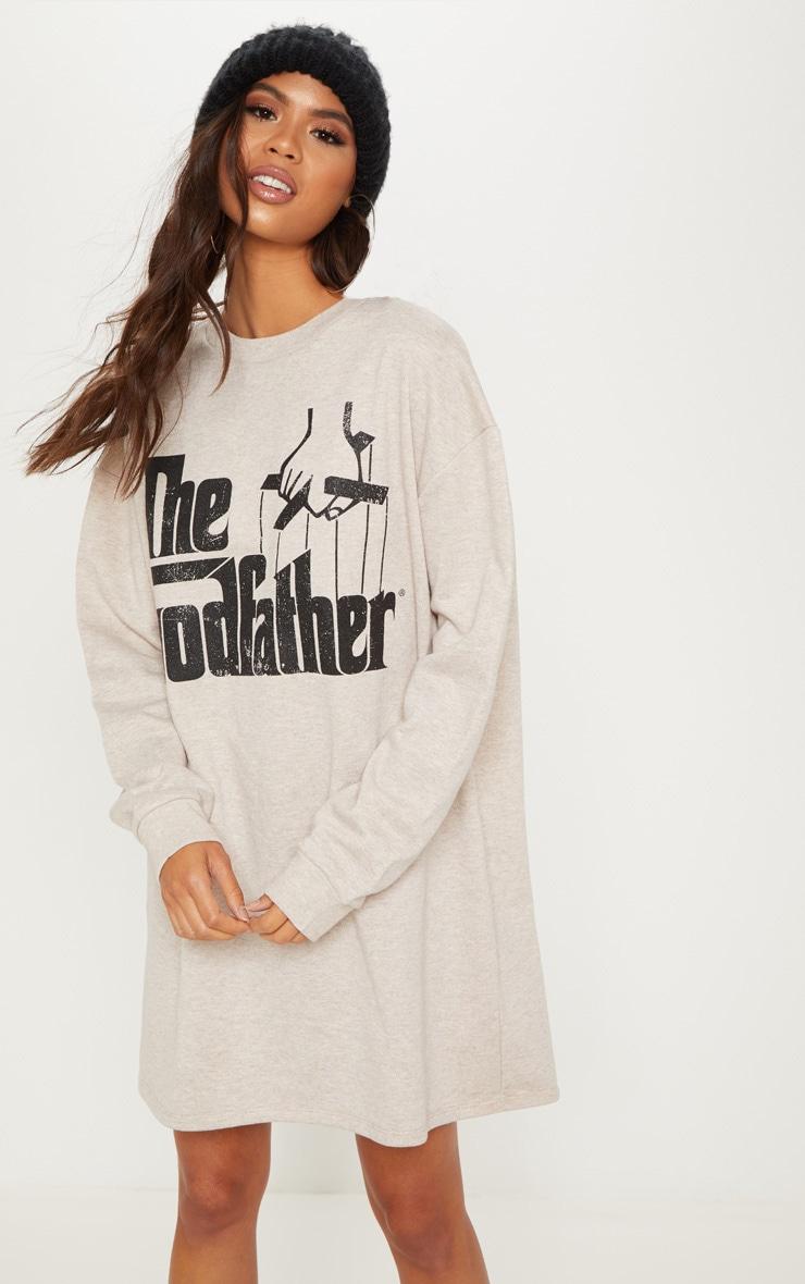 Stone The Godfather Oversized Jumper Dress 4