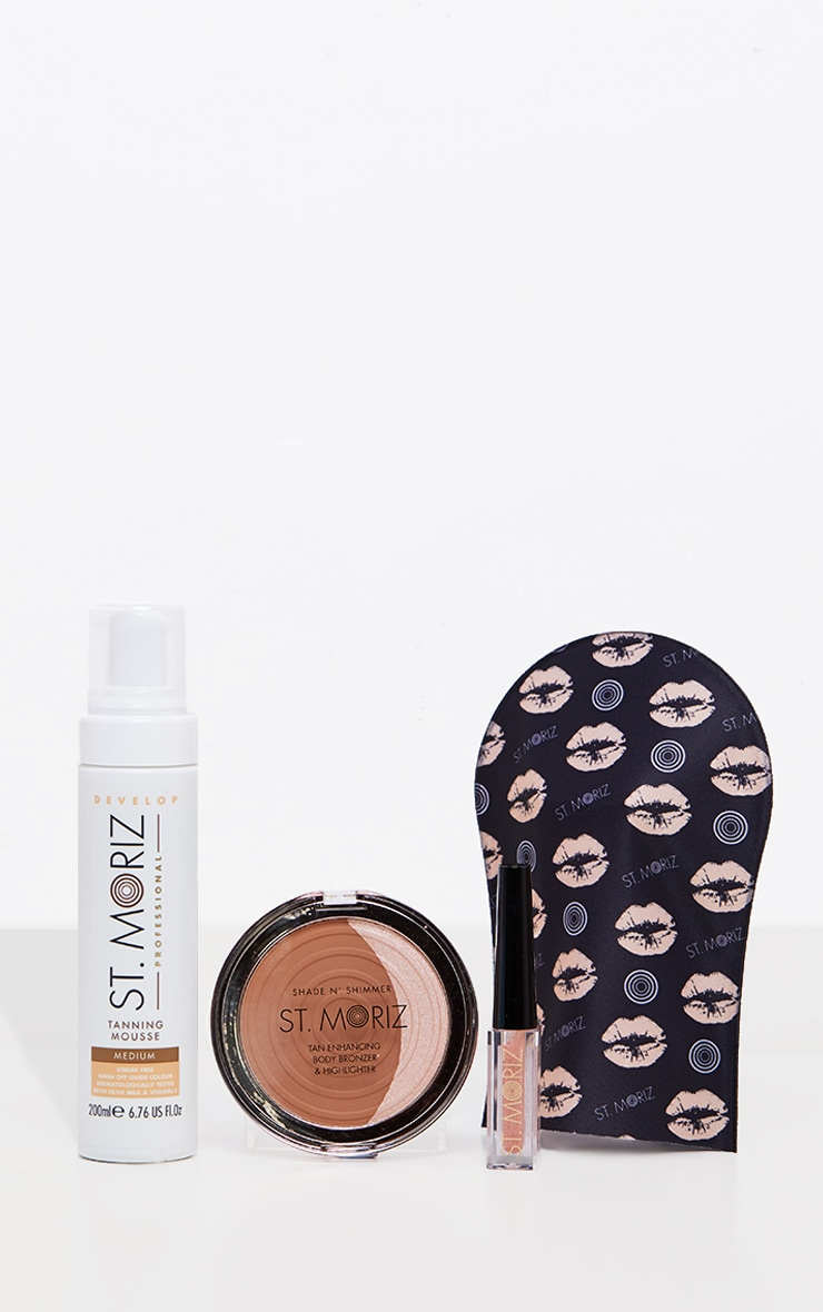 St Moriz Get your Glow On Christmas Tanning Set 1