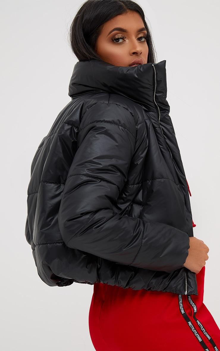 Black Puffer Jacket 2