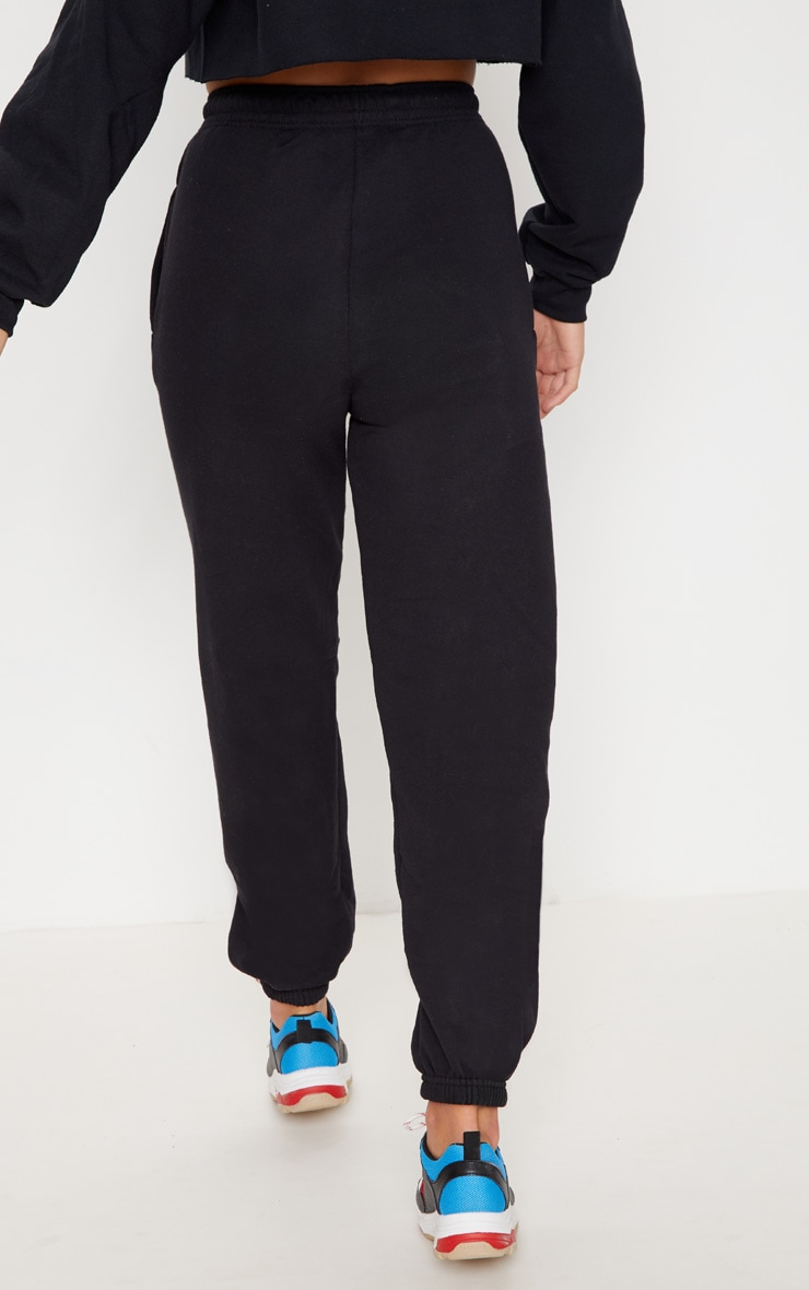 PRETTYLITTLETHING Black Multi Joggers 4