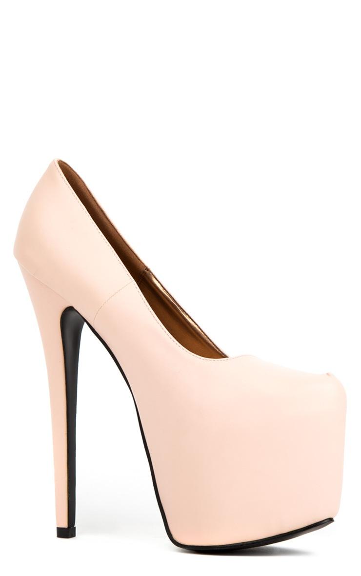Ami Baby Pink Stiletto Heels 2