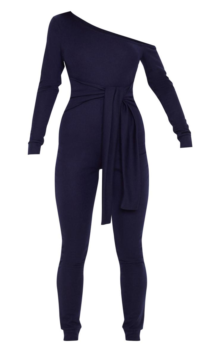 Navy Sweat Jumpsuit 1