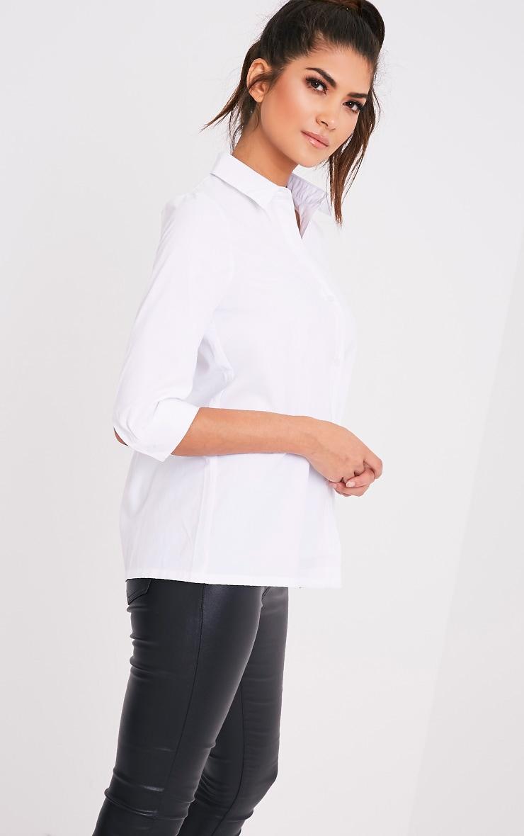 Basic t-shirt blanc 4