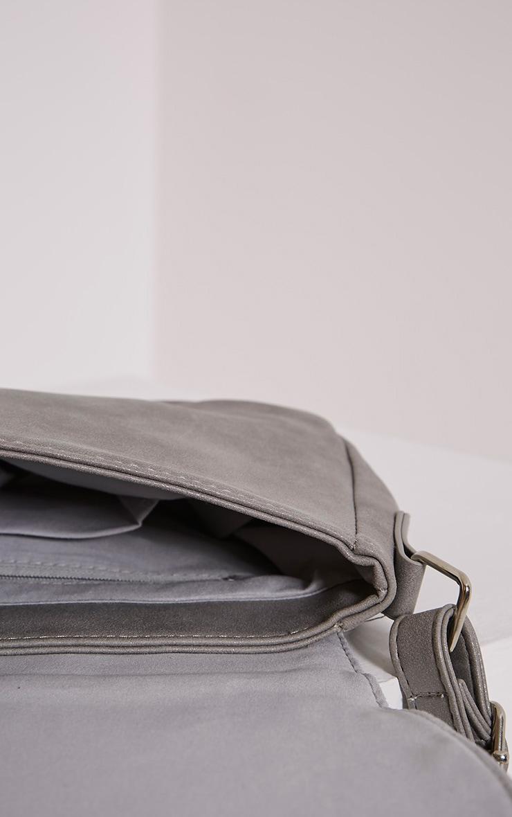 Dusti Grey Studded Shoulder Bag 7