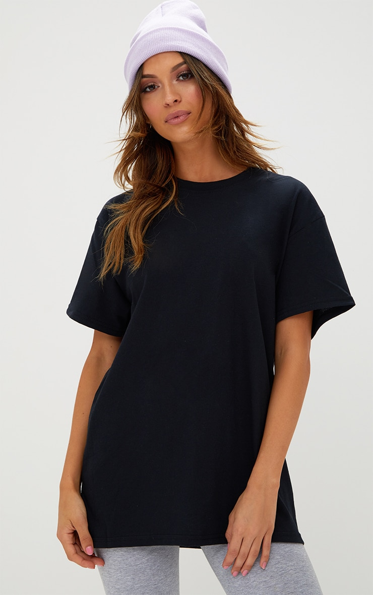 Ultimate Black Oversized T Shirt 1