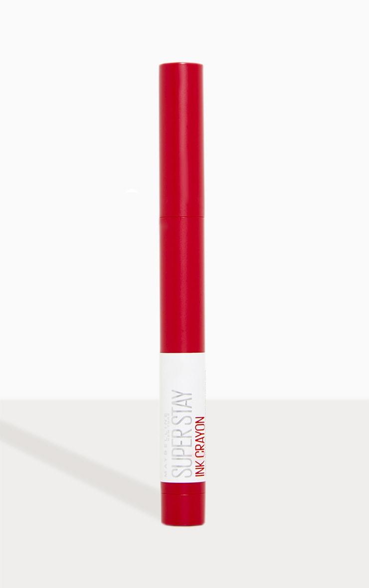 Maybelline Superstay Matte Ink Crayon Pink Lipstick 75 Speak Your Mind 2