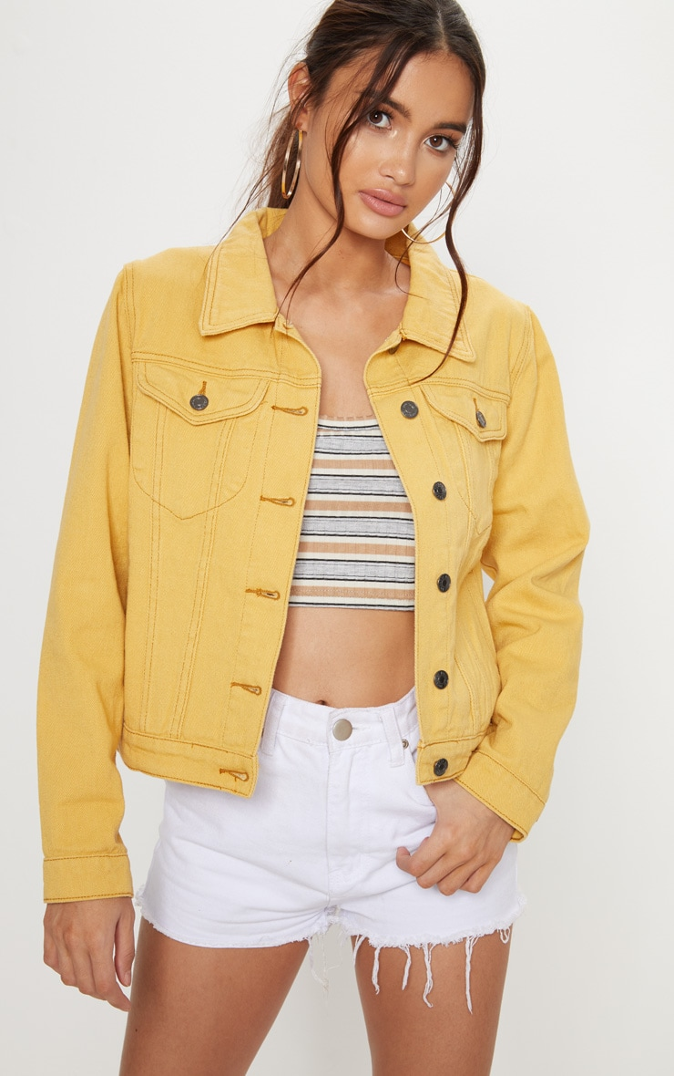 Denim Yellow Jacket 4