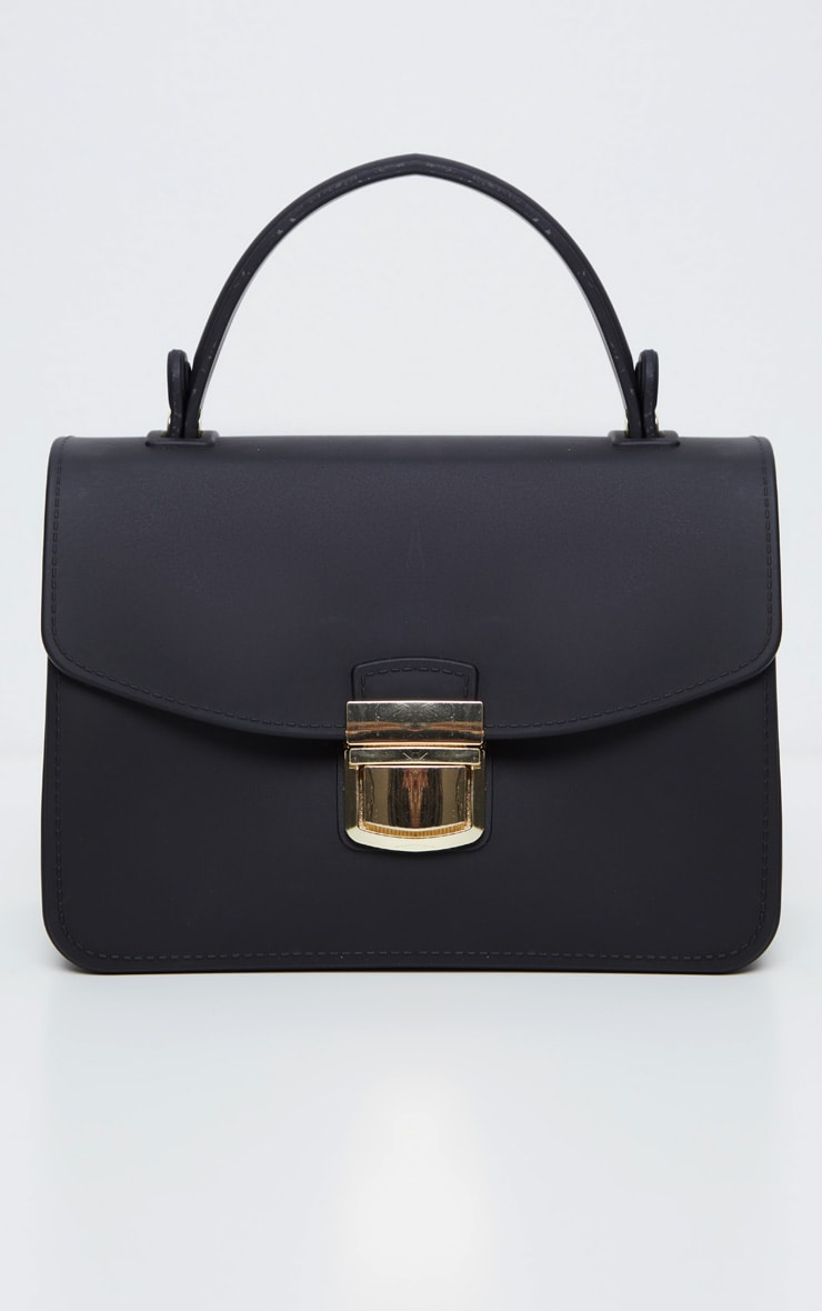 Black Matte Finish Mini Bag 2