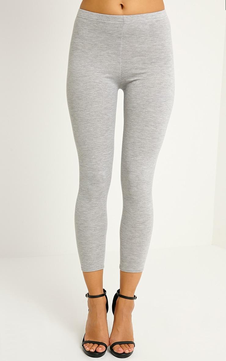 Basic Grey Leggings 2