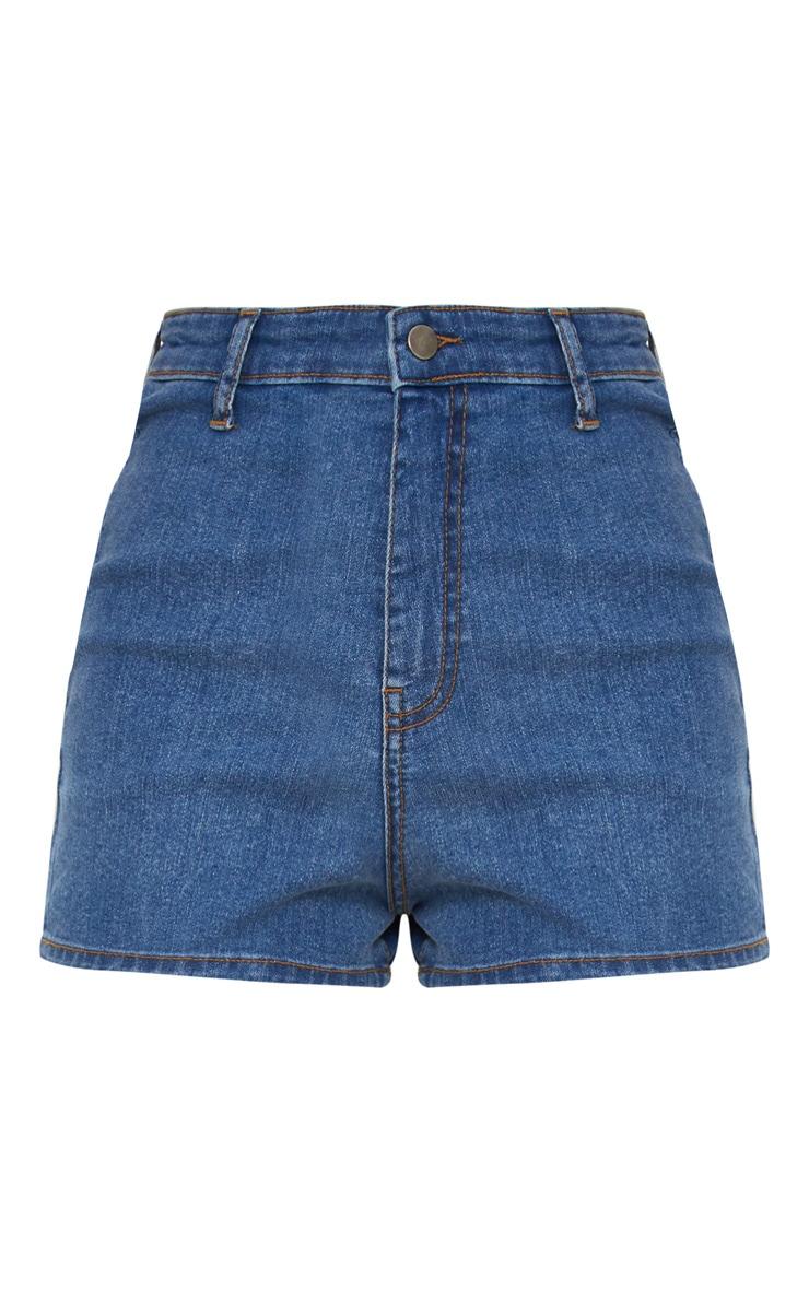 Mid Wash Disco Fit Short 3