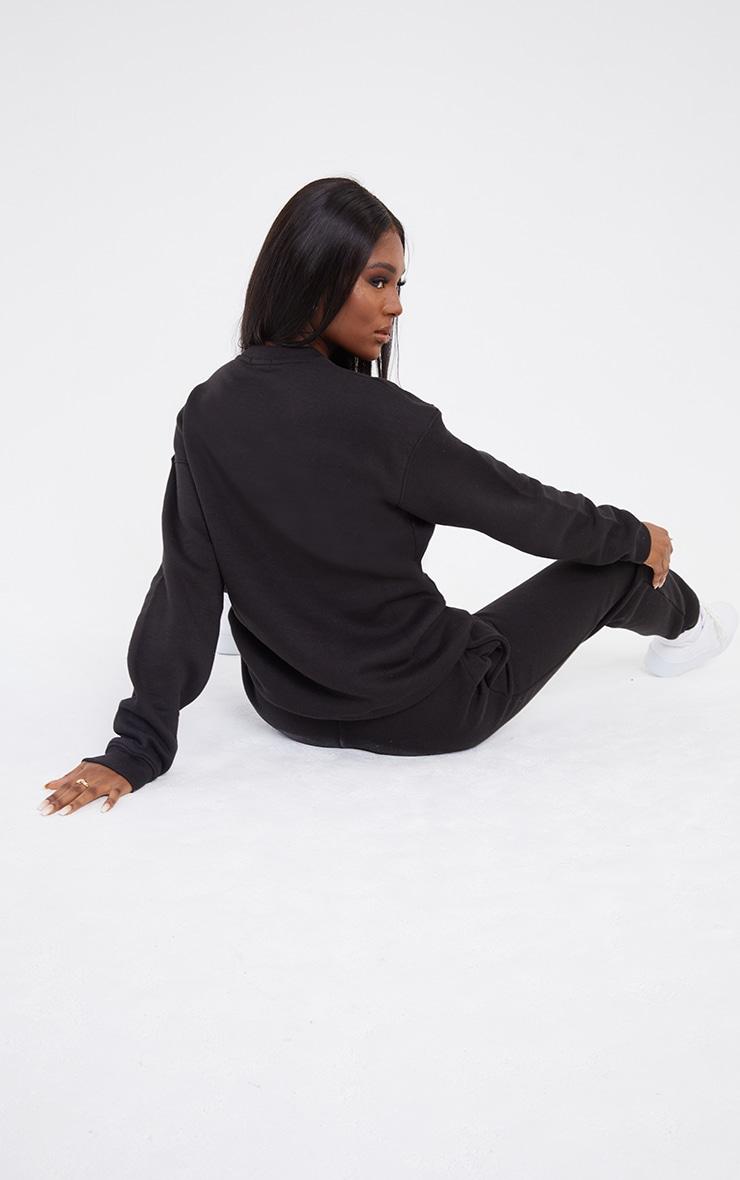 Tall Black Ultimate Oversized Sweatshirt 2