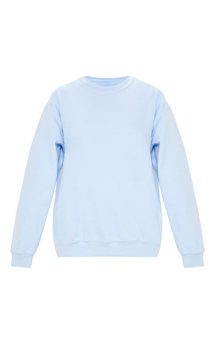 Light Blue Ultimate Oversized Sweater 3